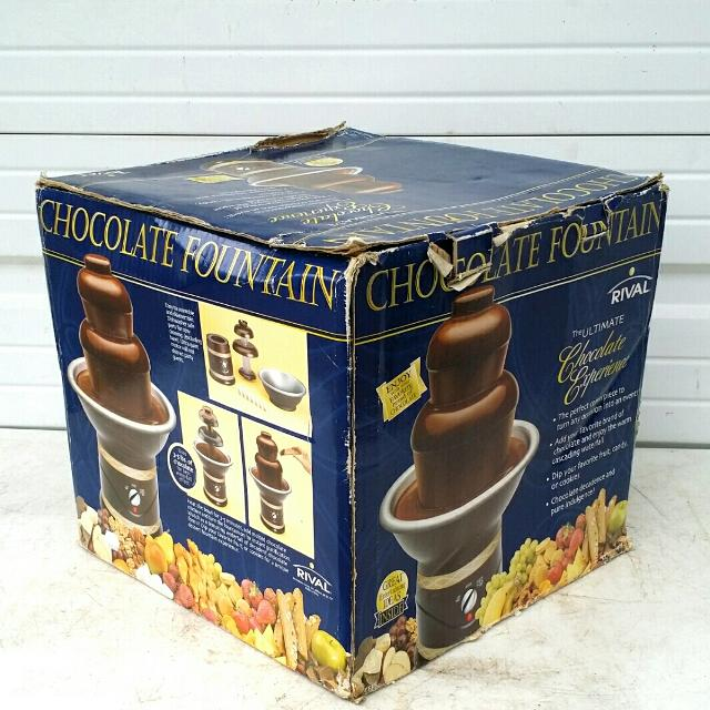 Find More New In Box Rival Cff5 Chocolate Fondue Fountain For Sale