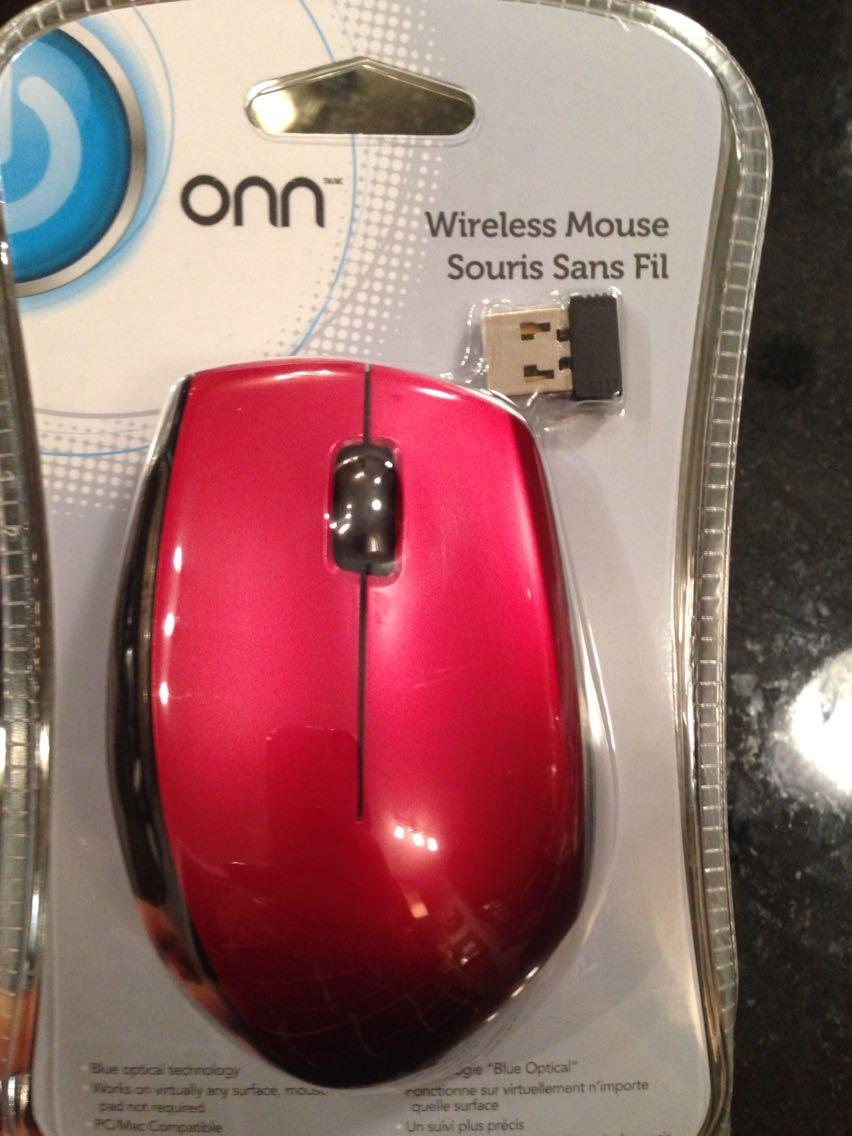 Find More Nwot Onn Wireless Mouse With Batteries For Sale At Up To