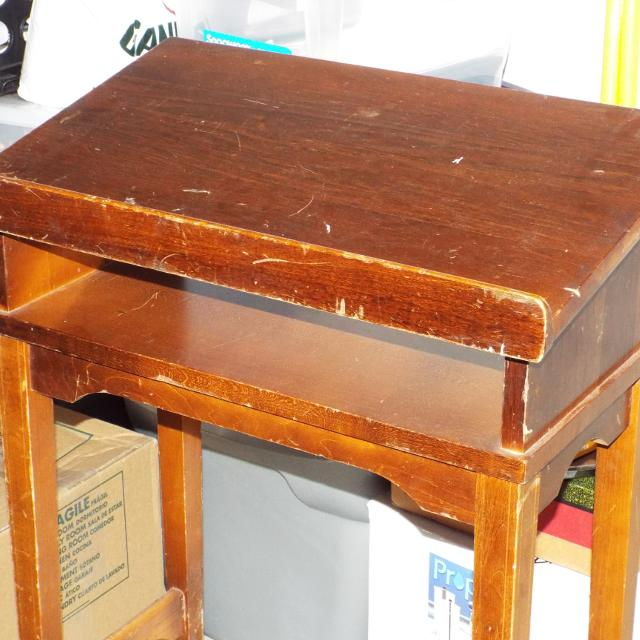 Find More 15 Antique Wooden Book Stand Reduced For