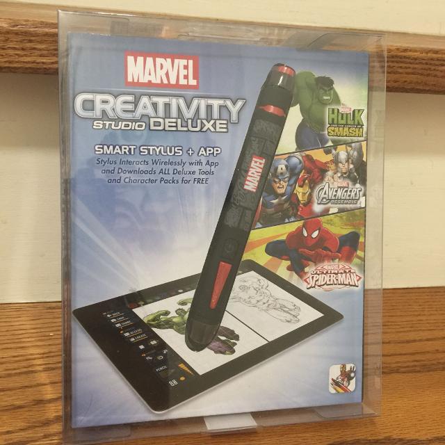 New Marvel Comics Creativity Studio Deluxe Smart Stylus + App