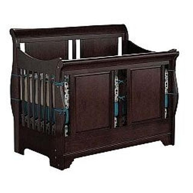 Best Shermag Chanderic Bradford Convertible Crib Espresso For Sale