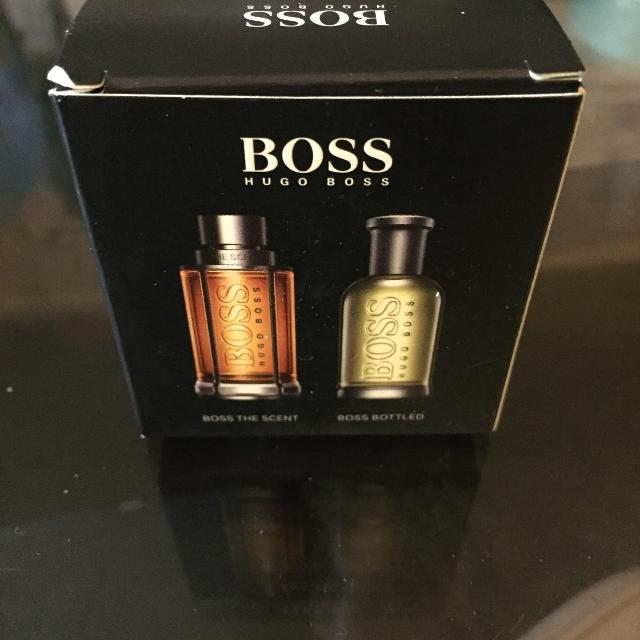unique style cheaper sale best online Brand New BOSS HUGO BOSS BOSS THE SCENT & BOSS BOTTLED Eau de Toilette For  MEN DUO MINIATURE 5ml each