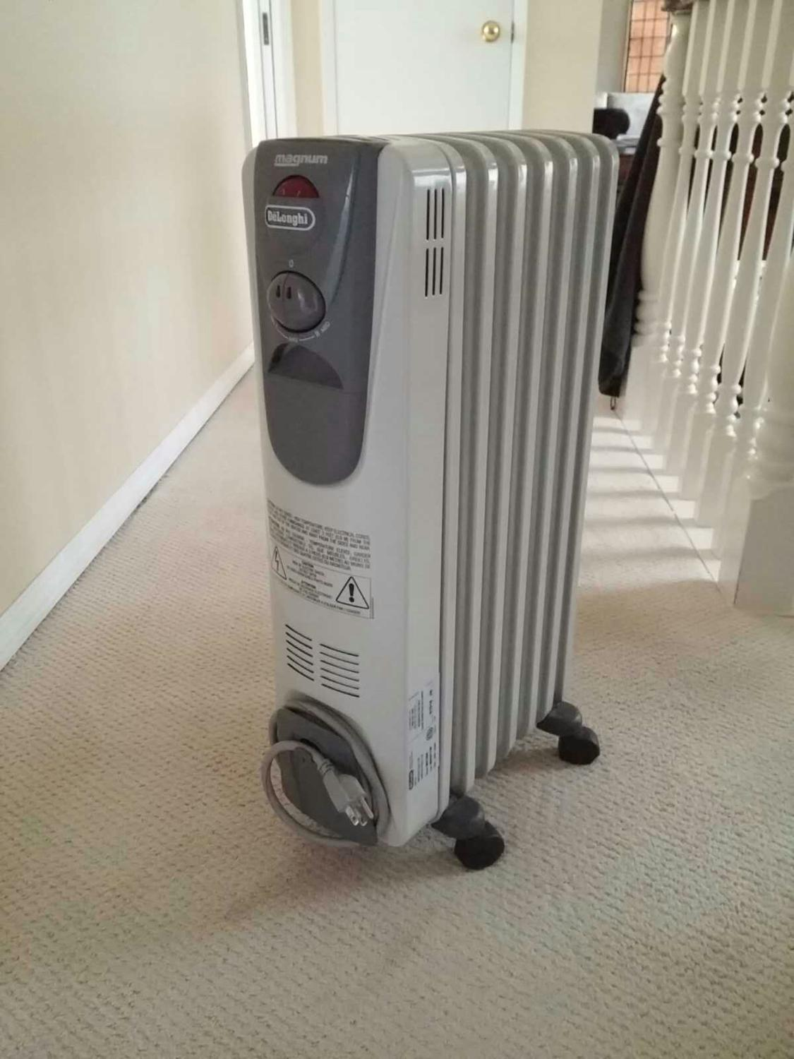 Find more Delonghi Magnum Electric Oil Gilled Heater 1500 Watts for sale at  up to 90% off