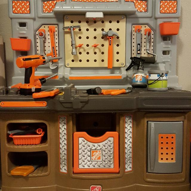 find more step 2 home depot workbench and tools for sale at up to 90 ...
