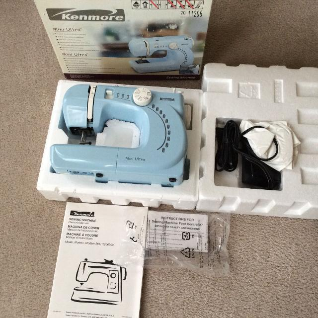Find More New Kenmore Mini Ultra Sewing Machine For Sale At Up To 40 Gorgeous Kenmore Ultra Mini Sewing Machine