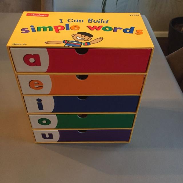 find more lakeshore i can build simple words for sale at up to 90 off