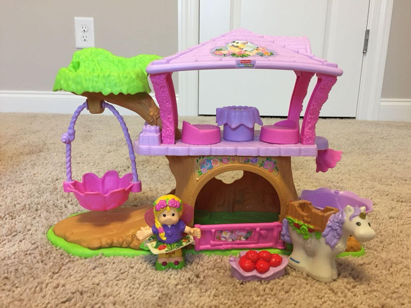 Find more Fisher Price Little People Fairy Treehouse for ...