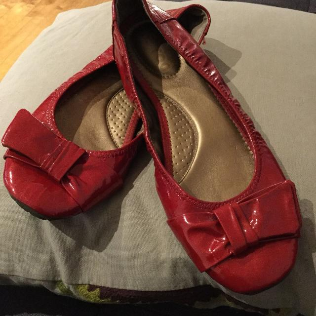 154057857 Best Red Ballerina Shoes for sale in Montréal, Quebec for 2019