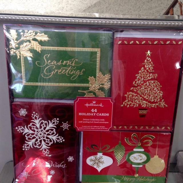 christmas cards new in box 44 costco - Costco Christmas Cards