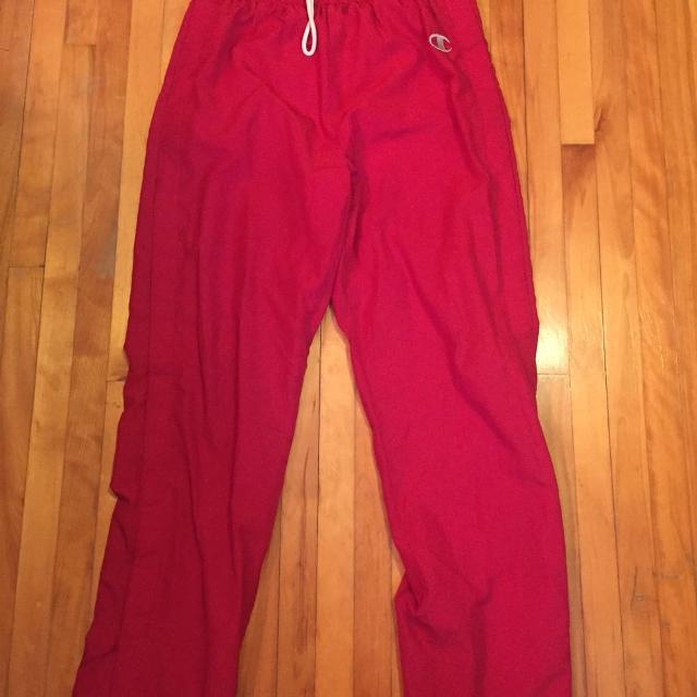 fe5ce97fa616 Find more Champion Button Up Track Pants. Size: S for sale at up to ...