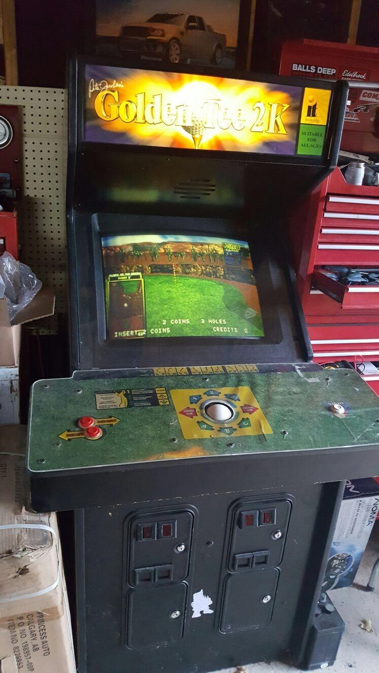 Find more Golden Tee 2k Arcade Machine for sale at up to ...