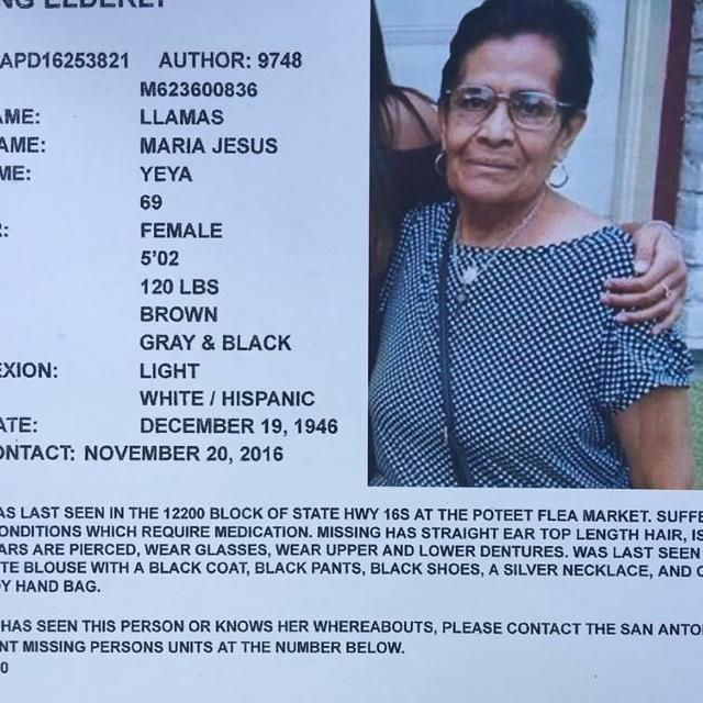 Missing person in Lackland, Texas for 2019