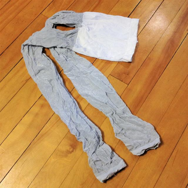 4730bf02 Find more Teens Sparkly Silver Leggings, Size 14 And Up, $1 for sale ...