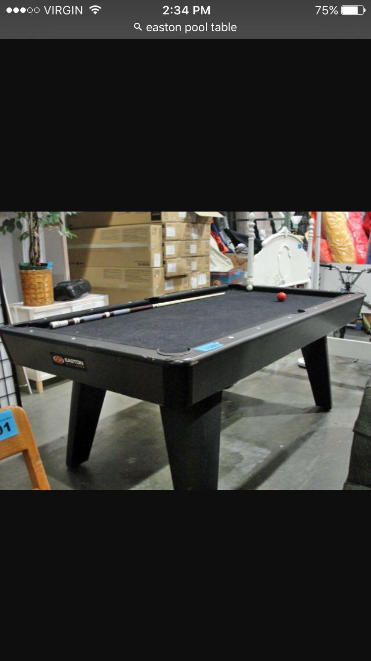 Find More Easton Pool Table For Sale At Up To Off - Easton pool table