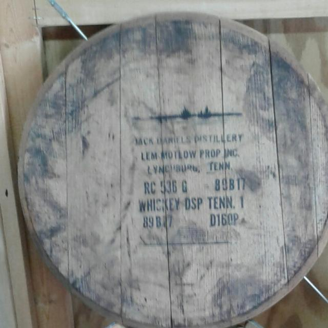 Best Jack Daniels Whiskey Barrel Lid For Sale In Mt Juliet