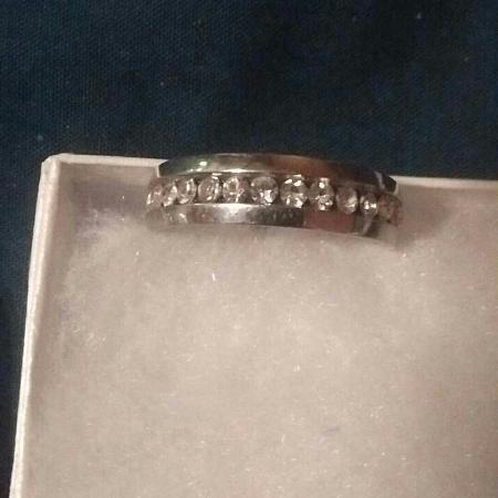 22854faf6 Beautiful size 10 unisex engagement ring