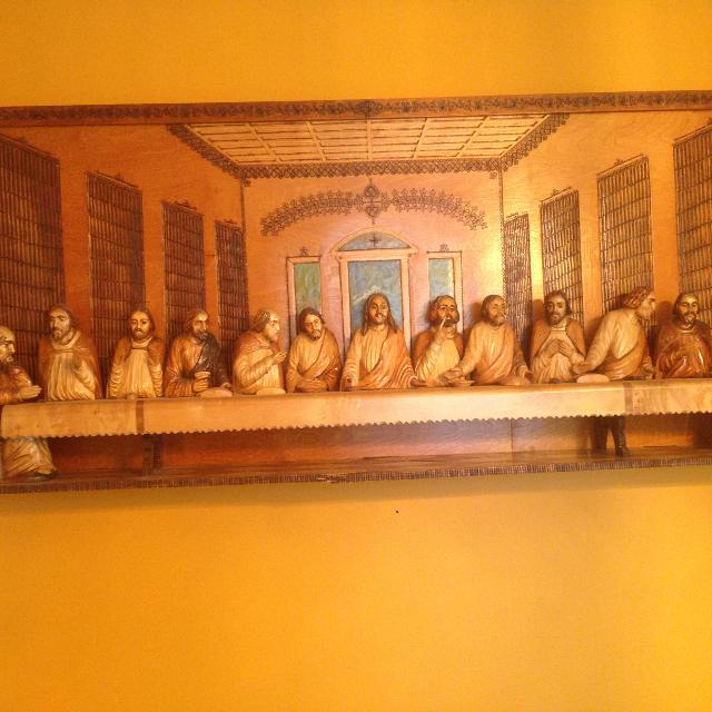 Best Last Supper Wooden Carving For Sale In Etobicoke Ontario For 2019