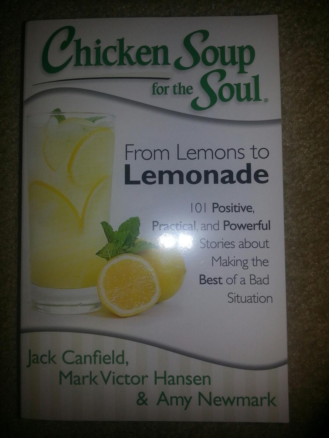 Find more Chicken Soup For The Soul From Lemons To Lemonade for sale at up  to 90% off