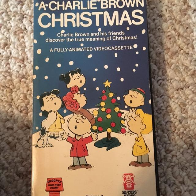 A Charlie Brown Christmas Vhs.A Charlie Brown Christmas Vhs Classic
