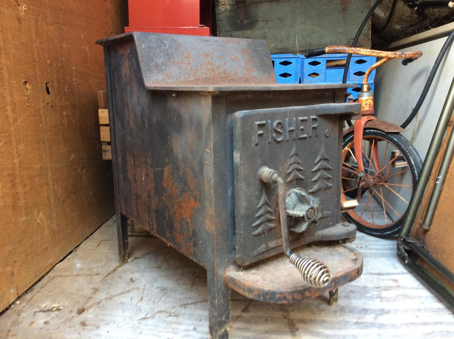 Best Fisher (baby Bear) Wood Stove for sale in Cecil County ...