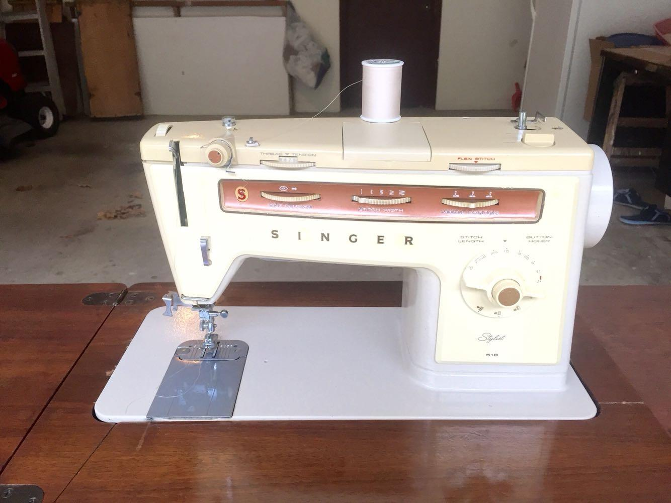 Best Vintage Singer Stylist Model 518 Sewing Machine for ...