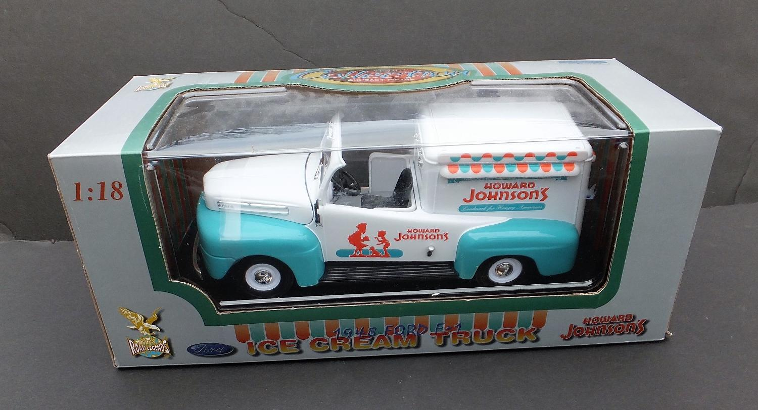 Find More 1948 Ford F 1 Ice Cream Truck Howard Johnsons 118 Sealed Cast S Box Road Legends For Sale At Up To 90 Off