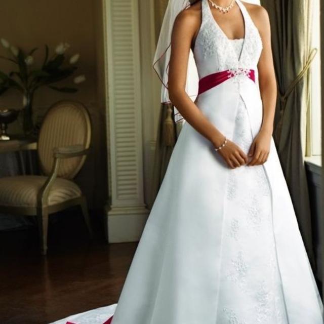 8b6037634cd Best David s Bridal Wedding Dress for sale in Lawton
