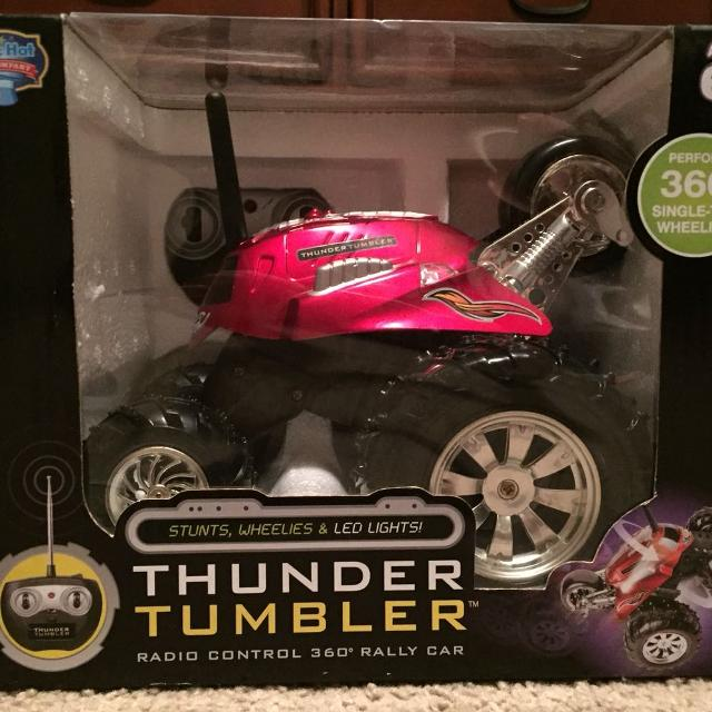 Find More Thunder Tumbler Rc 360 Rally Car For Sale At Up To 90 Off