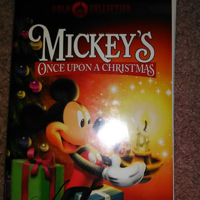 mickeys once upon a christmas vhs tape 100 smoke free home - Mickeys Once Upon A Christmas Vhs