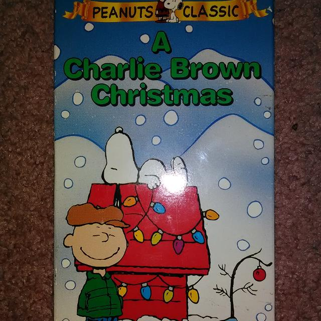 A Charlie Brown Christmas Vhs.A Charlie Brown Christmas Vhs Tape 1 00 Smoke Free Home
