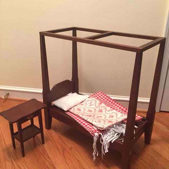 pleasant 4 poster bed frame. American Girl Felicity Four Poster Bed with Linens  Original Pleasant Company Find more With