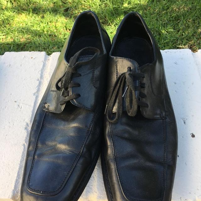 Best Kenneth Cole Black Leather Mens Dress Shoes For Sale In Irvine