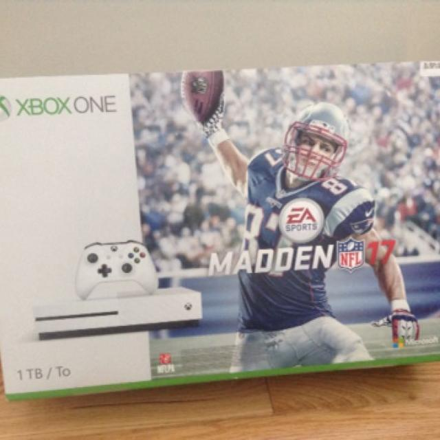 Price Drop! Brand New! XBox One S- 1 Terra Bite, Madden NFL 17 bundle-  Factory sealed  Now just $350!