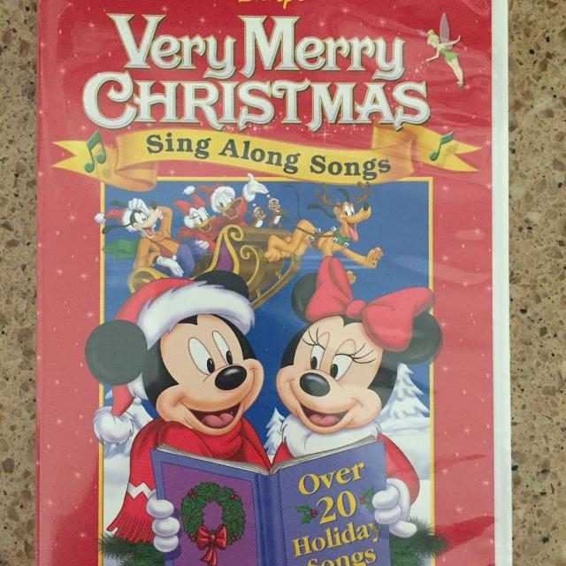 disney very merry christmas sing along songs dvd - A Walt Disney Christmas Dvd