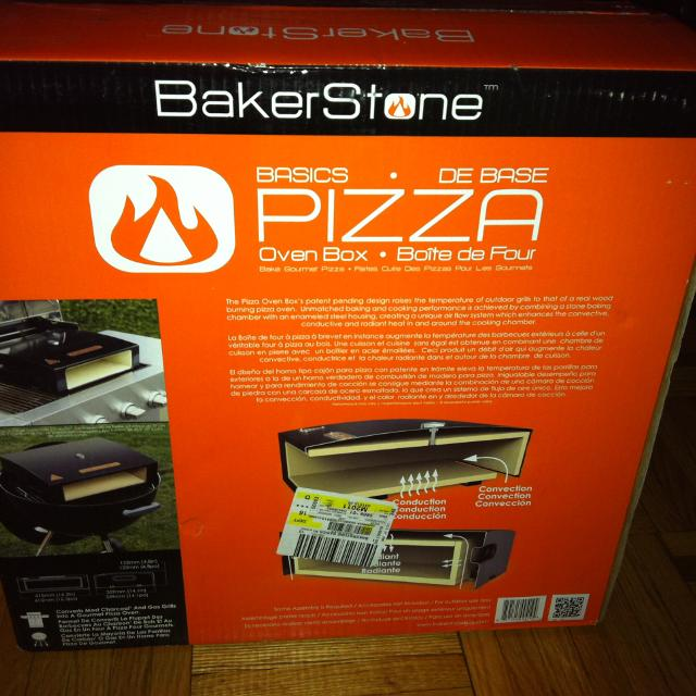 Best Bakerstone Pizza Oven Box New In Sold 1 Only Left For Richmond Hill Ontario 2019