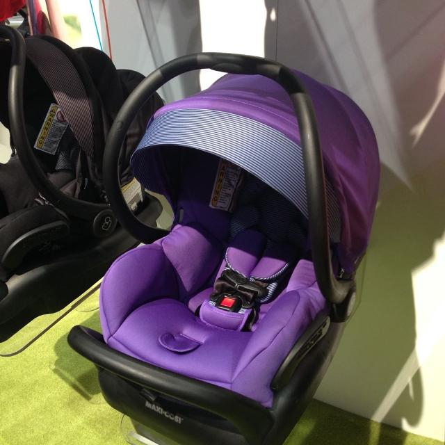 Maxi Cosi Mico Max 30 Purple Car Seat And Stroller Combo