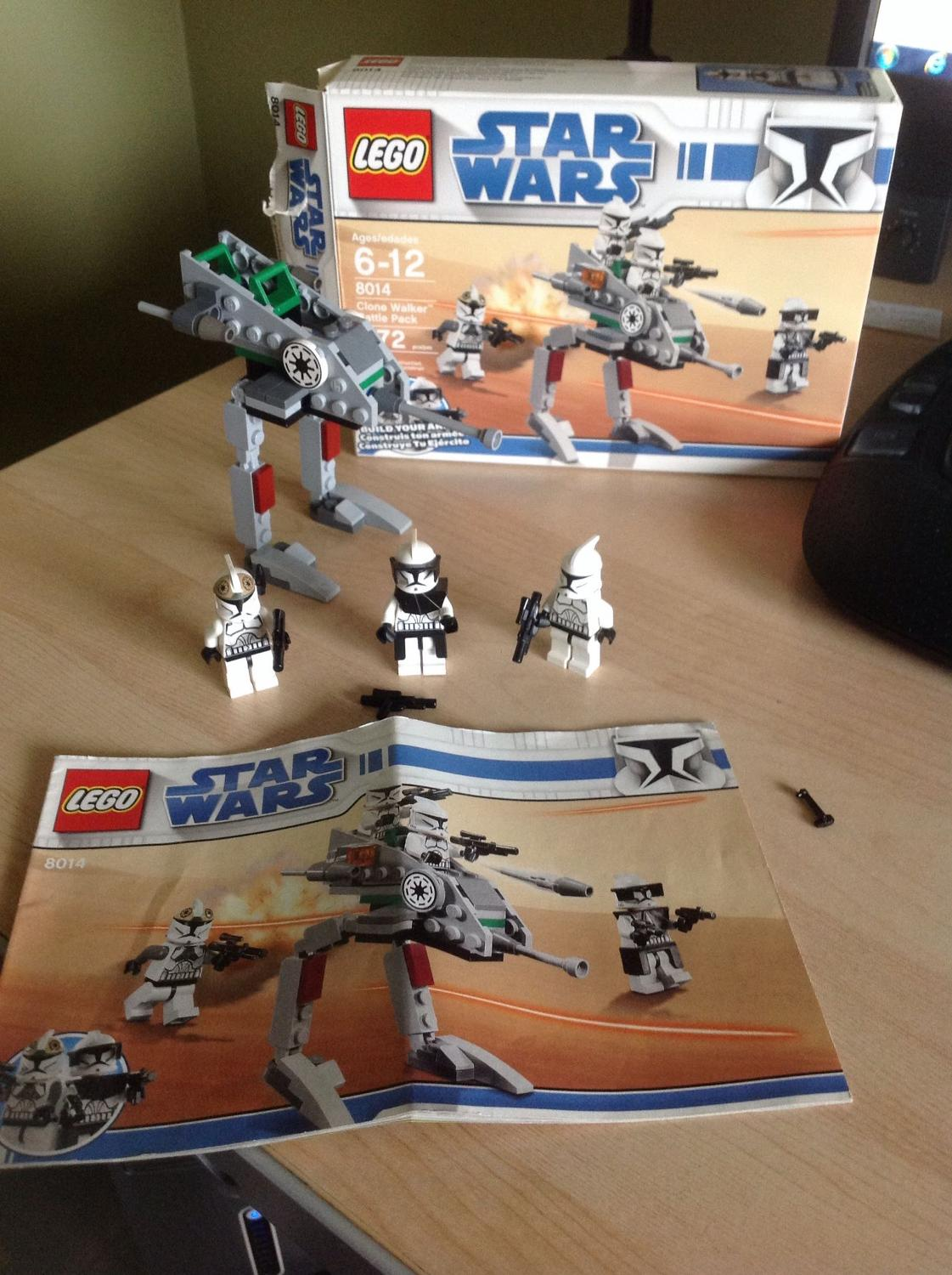 Find More Lego Star Wars 8014 Clone Walker Battle Back For Sale At