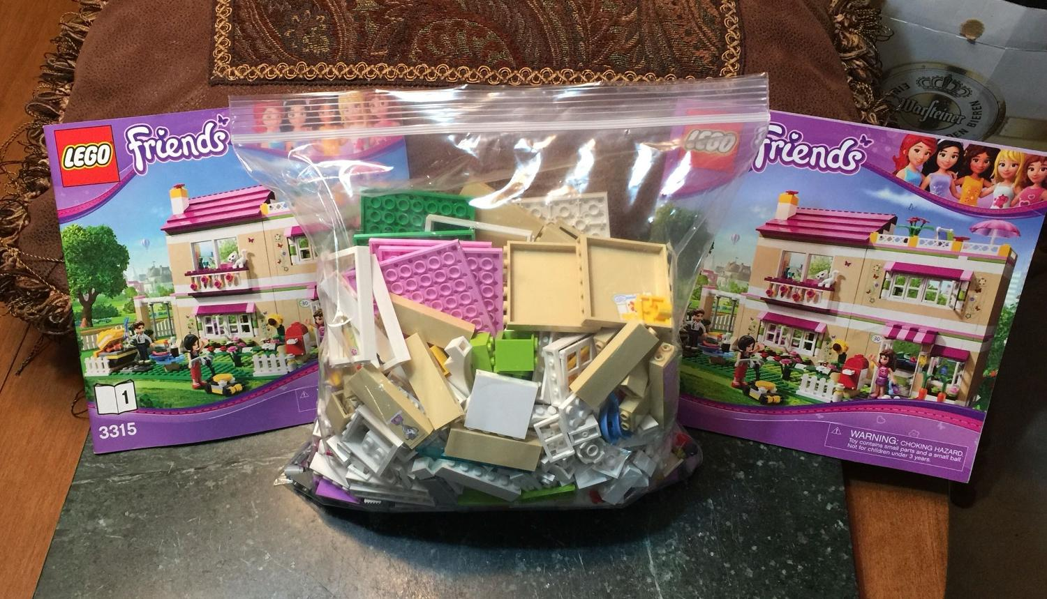 Find More Lego Friends 3315 Olivias House Instructions Comes With