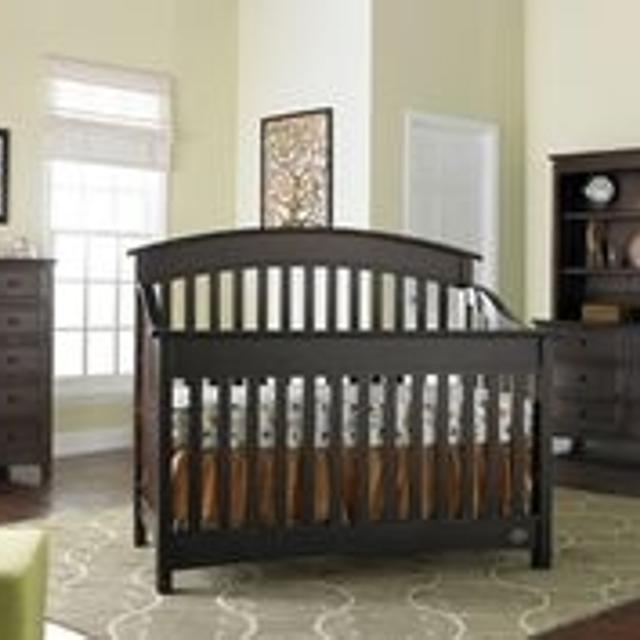 Best Casey Lifestyle Crib Espresso 1753 For Sale In