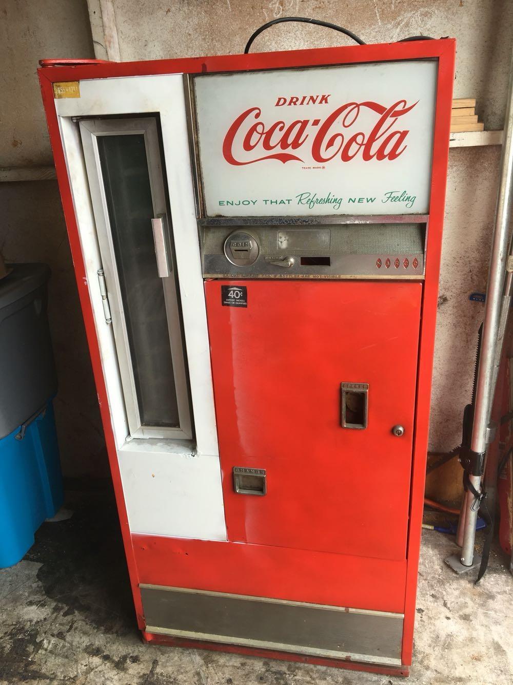 Best Vintage 1960 S Dixie Narco Coca Cola Machine Dns 80s