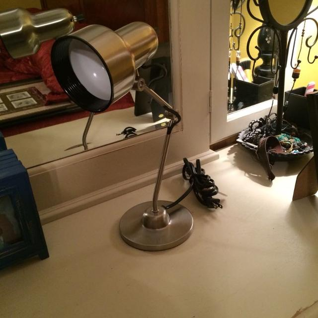 Find More Pottery Barn Desk Lamp, Excellent Condition, 15