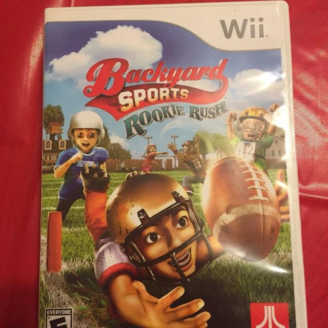 Backyard Sports Rookie Rush Wii game - Find More Backyard Sports Rookie Rush Wii Game For Sale At Up To 90% Off