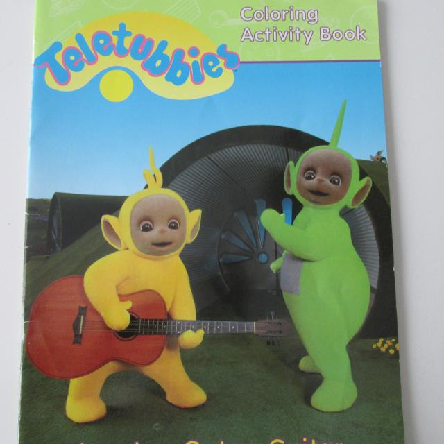 Teletubbies Coloring Book Kids Fun Com: Best Teletubbies Coloring Activity Book For Sale In Côte