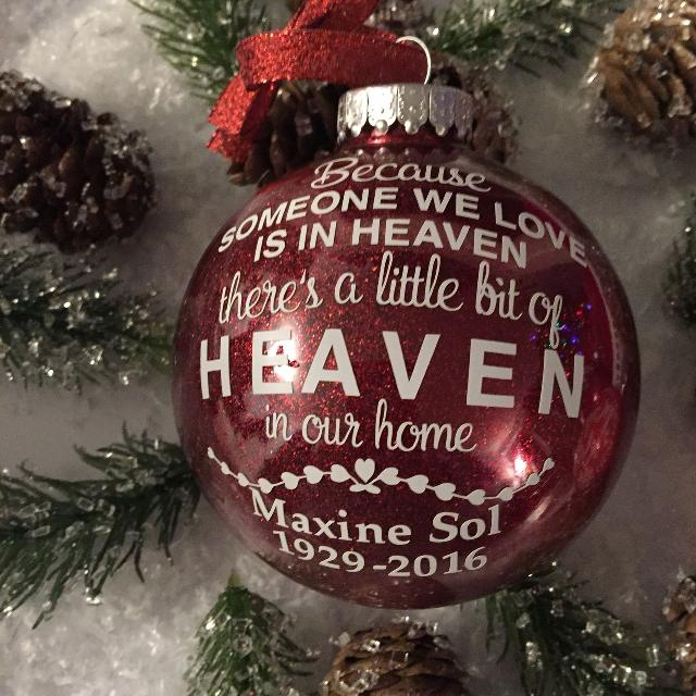 Best Personalized Someone We Love In Heaven Ornament For Scarborough Ontario 2019