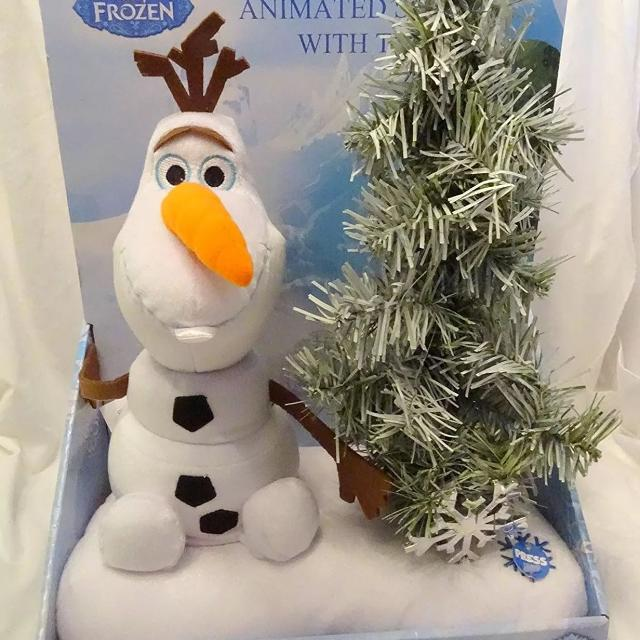 Olaf Christmas Trees.New Singing Dancing Olaf Christmas Tree From Frozen