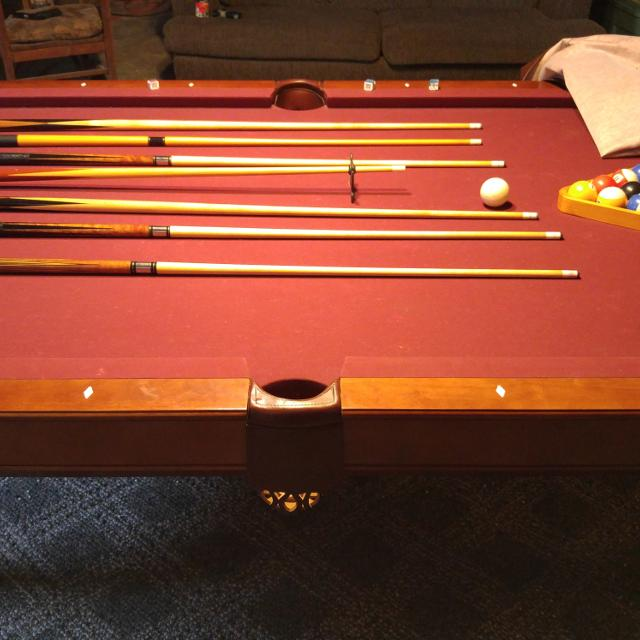 Best Brunswick Pool Table Only Eight Years Old For Sale In Bedford - Old brunswick pool table