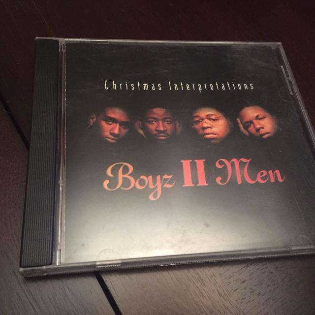 boys ii men christmas music cd excellent condition - Boys To Men Christmas