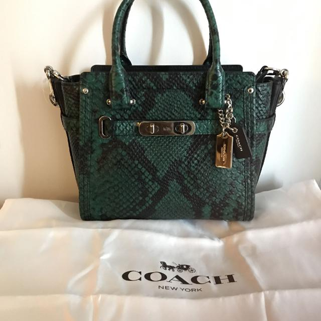 Best New Price   Coach Swagger Crossbody Purse for sale in Brockton ... 99b9dc197d668