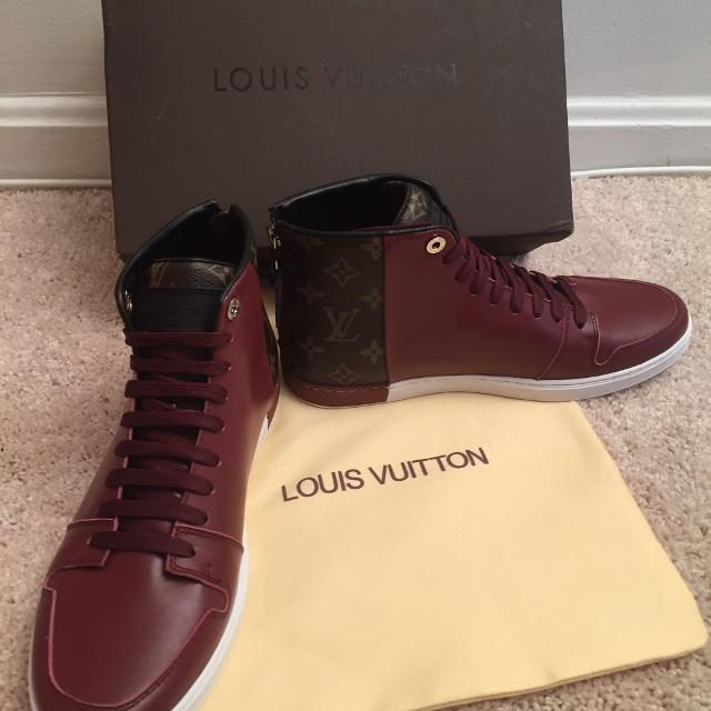 a53465c9ae84 Best Louis Vuitton Line-up Hightop Men Sneakers for sale in Washington