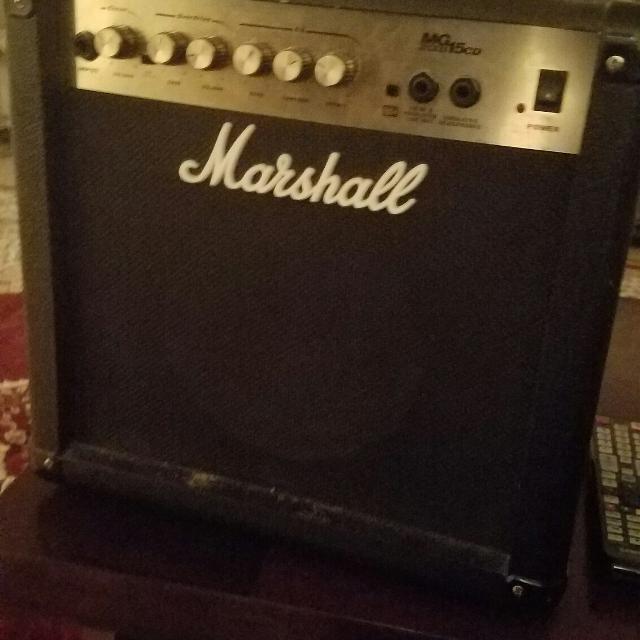 Marshall mg15cd amp